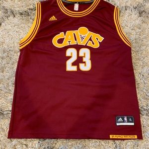 LeBron James Cleveland Cavaliers Red Jersey XL